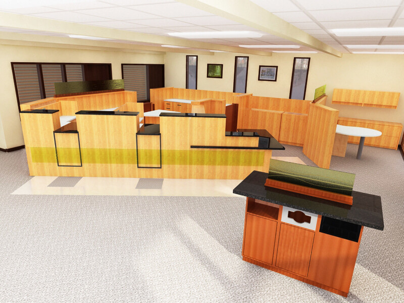 Furnish The Bank Stylishly And Economically
