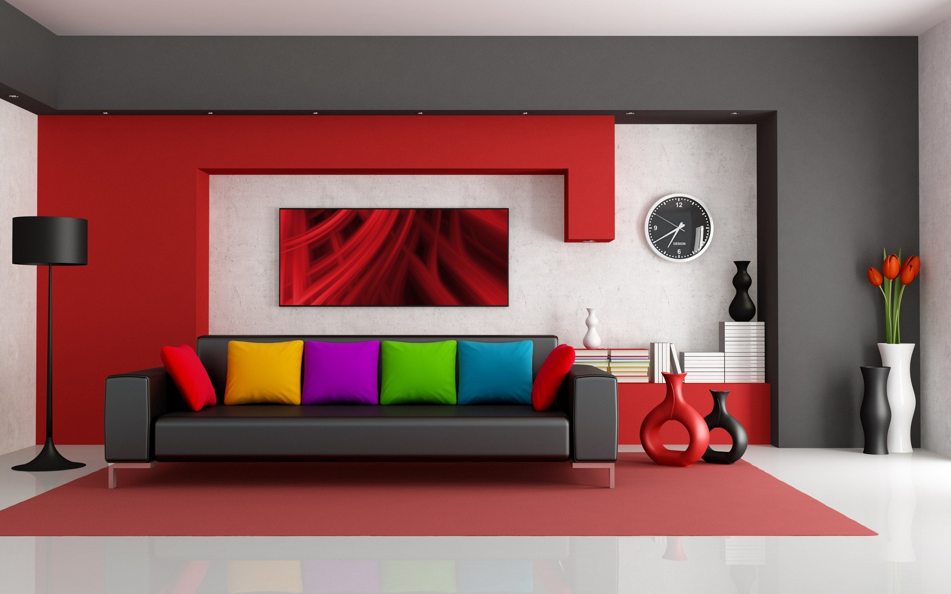 . Latest interior design best wallpapers